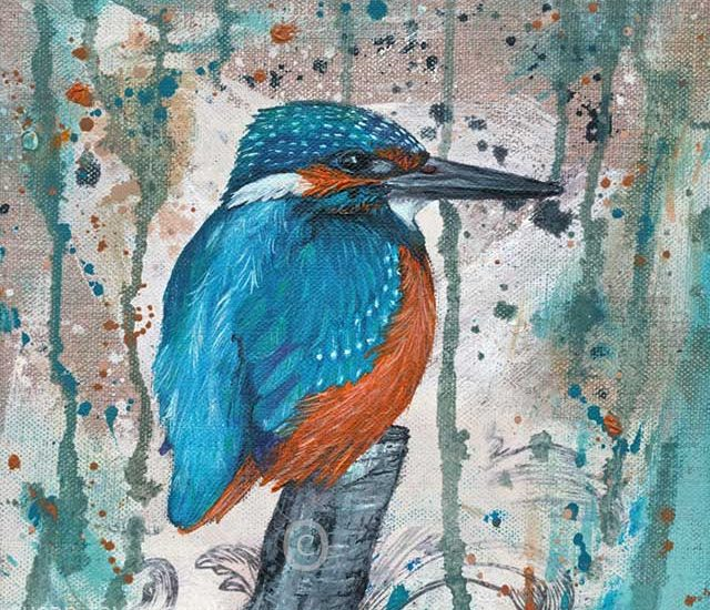 Kingfisher – Gone Fishing