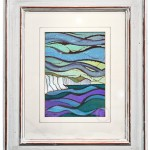 Watercolour and ink painting for Belle Tout from Cuckmere Haven